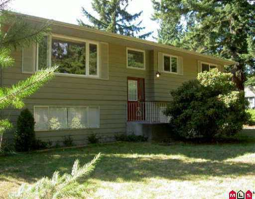 Main Photo: 4591 200TH ST in Langley: Langley City House for sale : MLS®# F2520487