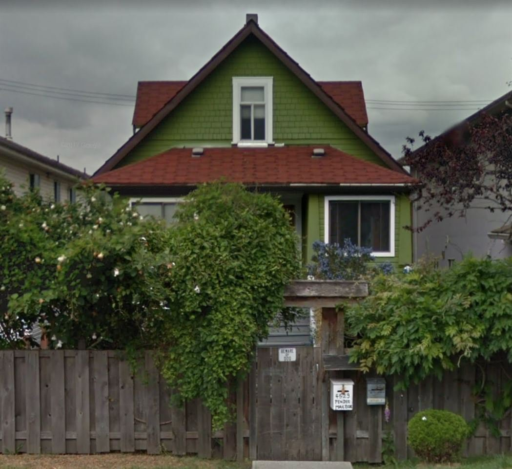 Main Photo: 4529 PENDER Street in Burnaby: Capitol Hill BN House for sale (Burnaby North)  : MLS®# R2428283