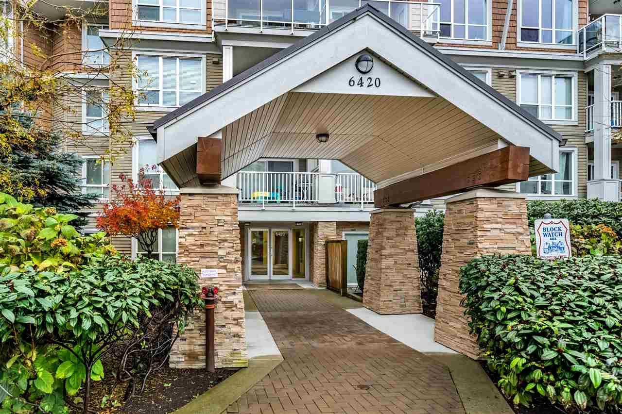 "Main Photo: 406 6420 194 Street in Surrey: Clayton Condo for sale in ""Waterstone"" (Cloverdale)  : MLS®# R2454840"