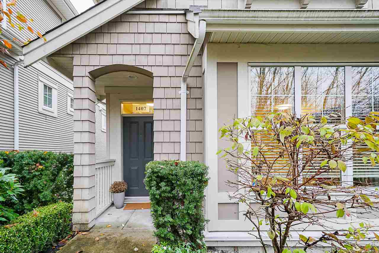 Main Photo: 1407 COLLINS Road in Coquitlam: Burke Mountain Townhouse for sale : MLS®# R2519950