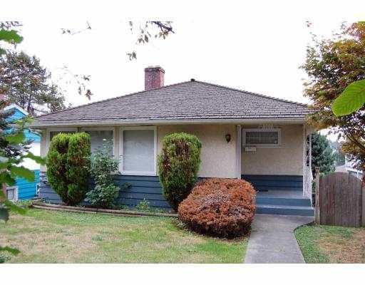 Main Photo: 8008 11TH Street in BURNABY EAST: House for sale (Burnaby East)  : MLS®# V786798