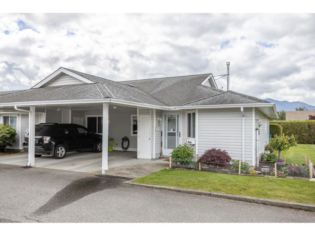 "Main Photo: 116 7610 EVANS Road in Chilliwack: Sardis West Vedder Rd Townhouse for sale in ""COTTONWOOD RETIREMENT VILLAGE"" (Sardis)  : MLS®# R2457959"