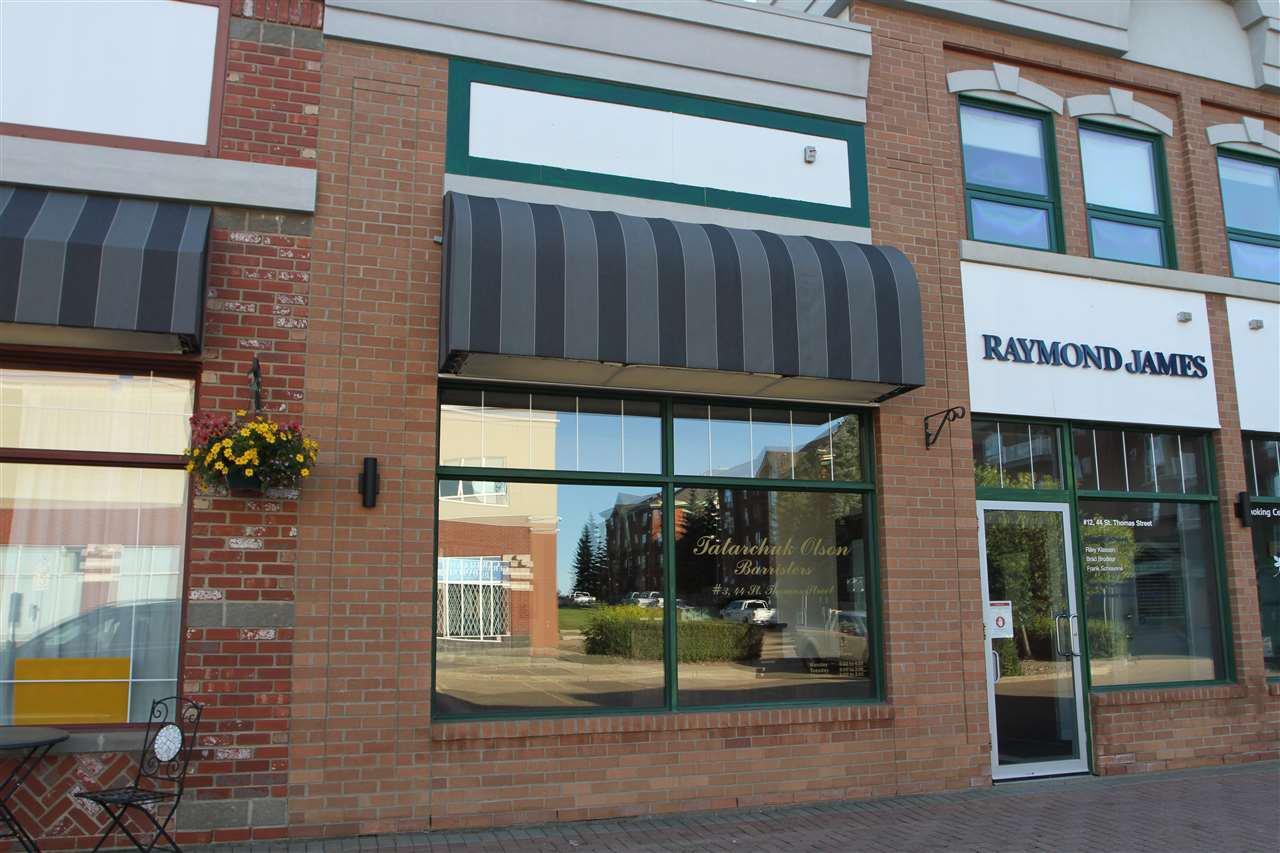Main Photo: 3 44 St. Thomas Street: St. Albert Office for lease : MLS®# E4206891