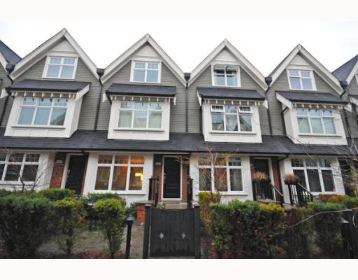 "Main Photo: 3862 WELWYN Street in Vancouver: Victoria VE Townhouse for sale in ""STORIES"" (Vancouver East)  : MLS®# V797088"