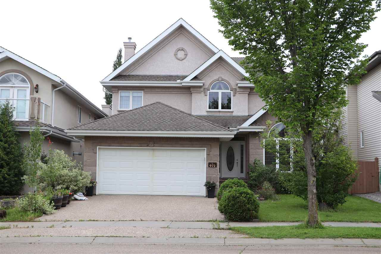 Main Photo: 972 HOLLINGSWORTH Bend in Edmonton: Zone 14 House for sale : MLS®# E4169555