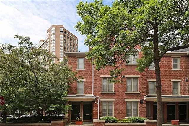 Main Photo: 52 St Nicholas St, Toronto, Ontario M4Y1W7 in Toronto: Condominium Townhome for sale (Bay Street Corridor)  : MLS®# C3518917
