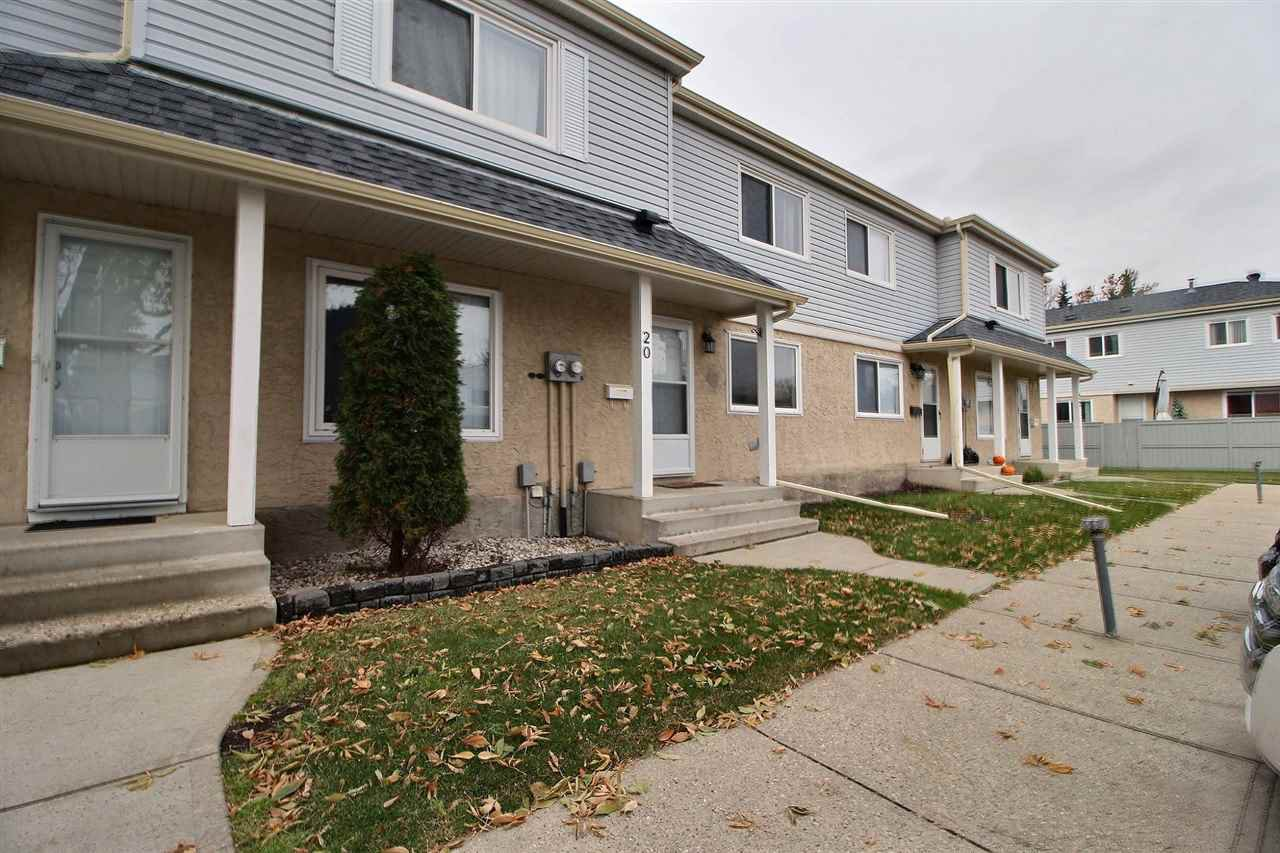 Main Photo: 20 2030 BRENTWOOD Boulevard: Sherwood Park Townhouse for sale : MLS®# E4177155