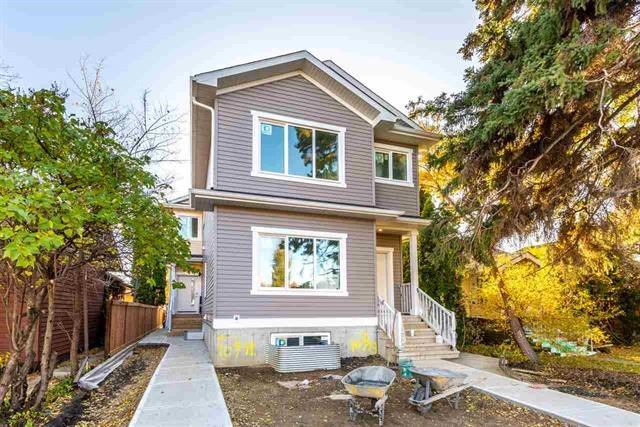 Main Photo: 10713 74 Avenue NW in Edmonton: Zone 15 Duplex Front and Back for sale : MLS®# E4189184