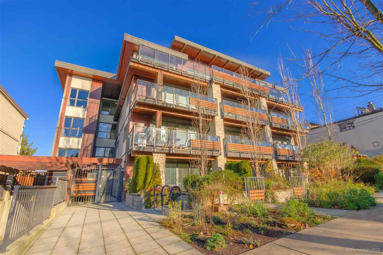 Main Photo: 103 1661 E 2ND Avenue in Vancouver: Grandview Woodland Condo for sale (Vancouver East)  : MLS®# R2522237