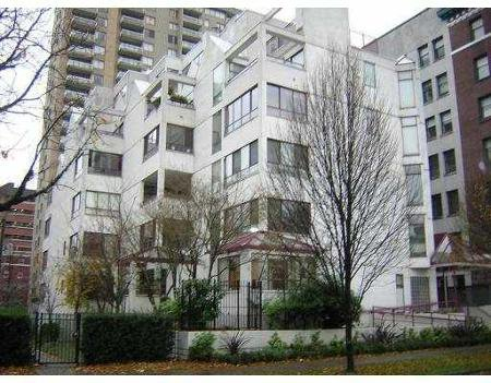 Main Photo: 503 1042 NELSON ST in Vancouver: House for sale (West End VW)  : MLS®# V622002