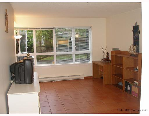 """Photo 6: Photos: # 104 - 3480 YARDLEY AVE in Vancouver: Collingwood VE Condo for sale in """"AVALON"""" (Vancouver East)  : MLS®# V780578"""