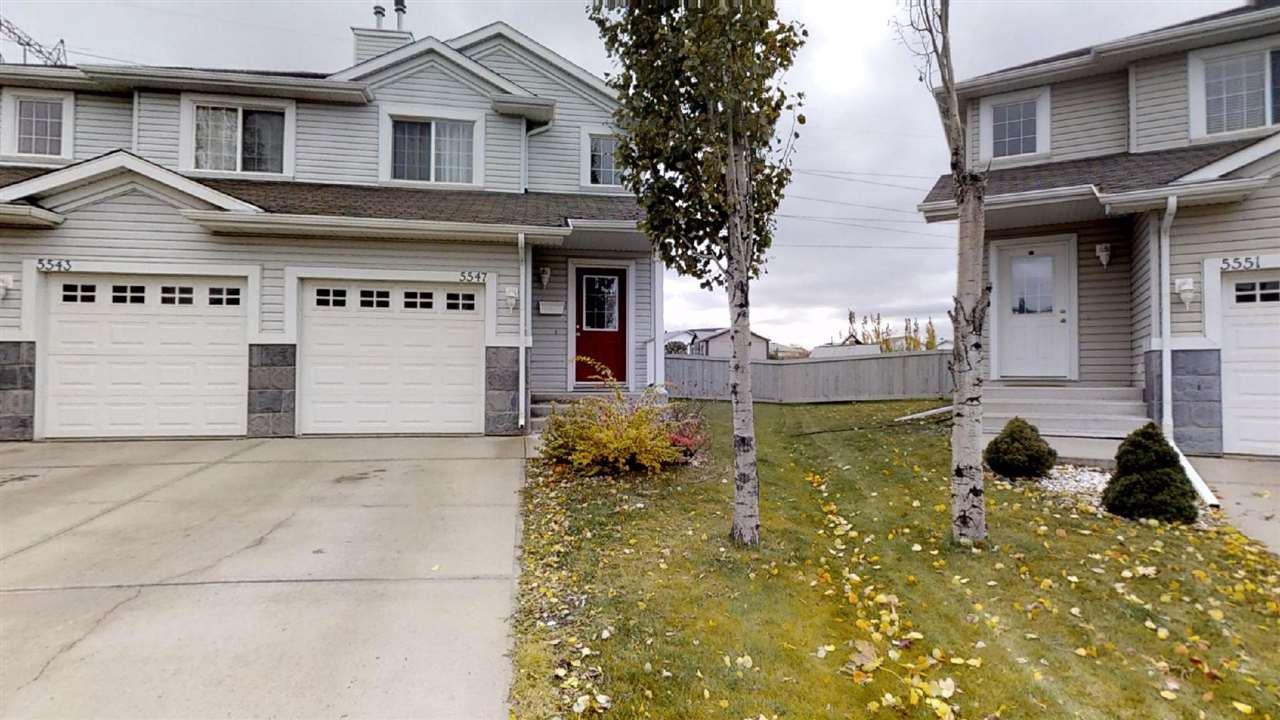 Main Photo: 5547 163 Avenue in Edmonton: Zone 03 Attached Home for sale : MLS®# E4176788