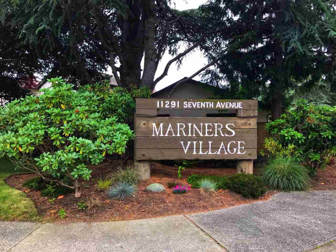 "Main Photo: 38 11291 7TH Avenue in Richmond: Steveston Village Townhouse for sale in ""MARINER'S VILLAGE"" : MLS®# R2469827"