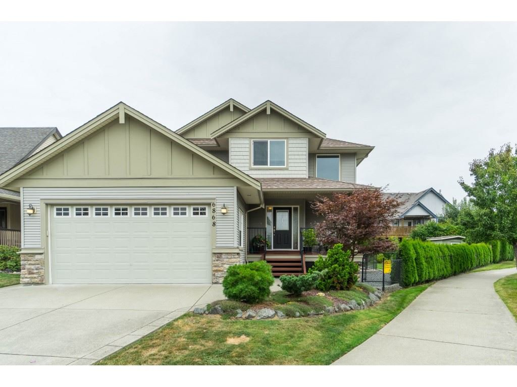 Main Photo: 6868 SHEFFIELD Way in Sardis: Sardis East Vedder Rd House for sale : MLS®# R2402290