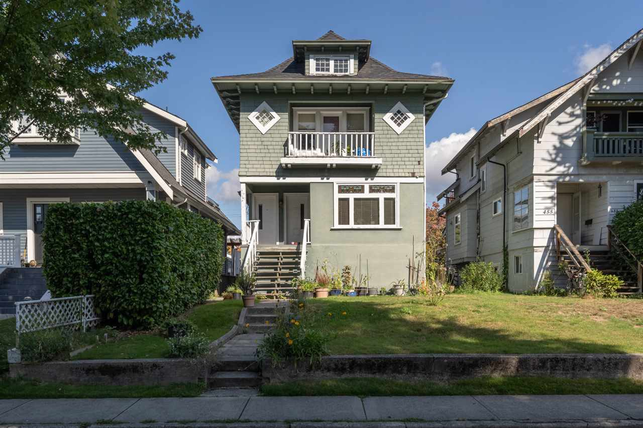 Main Photo: 461 W 19TH Avenue in Vancouver: Cambie House for sale (Vancouver West)  : MLS®# R2508147