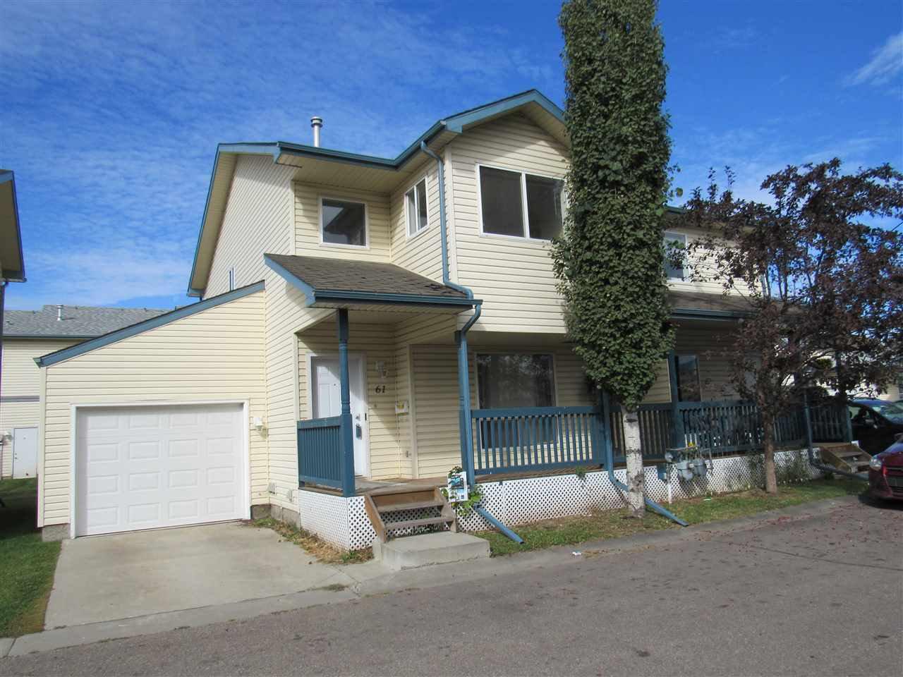 Main Photo: 61 10909 106 Street in Edmonton: Zone 08 House Half Duplex for sale : MLS®# E4212244