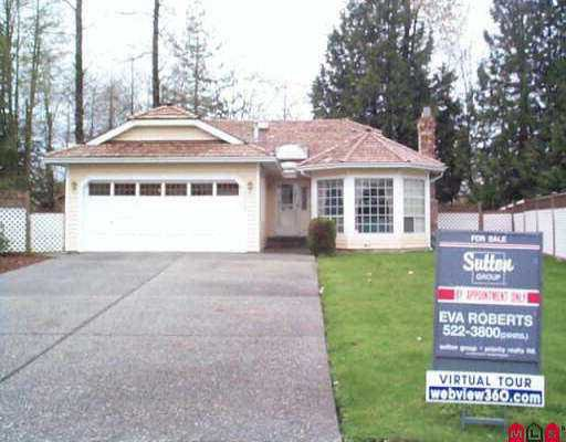 Main Photo: 15372 110A AV in Surrey: Fraser Heights House for sale (North Surrey)  : MLS®# F2506568
