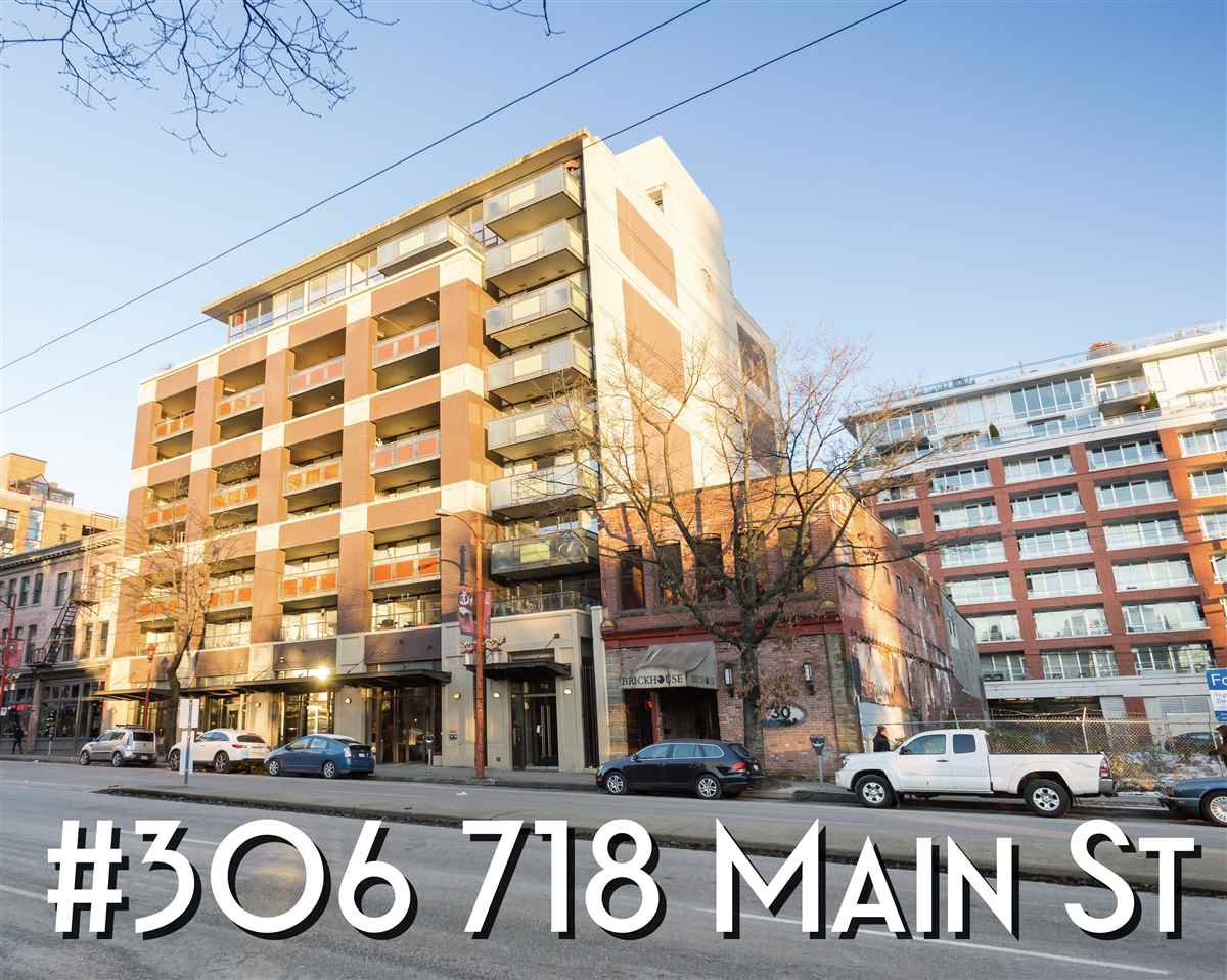 "Main Photo: 306 718 MAIN Street in Vancouver: Strathcona Condo for sale in ""GINGER"" (Vancouver East)  : MLS®# R2406118"