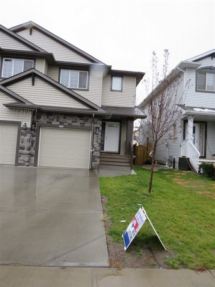 Main Photo: 2836 16 Avenue in Edmonton: Zone 30 House Half Duplex for sale : MLS®# E4213445