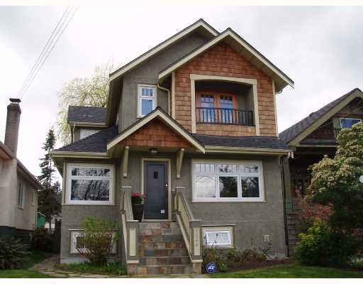 Main Photo: 3548 W 7TH Avenue in Vancouver: Kitsilano House for sale (Vancouver West)  : MLS®# V700644