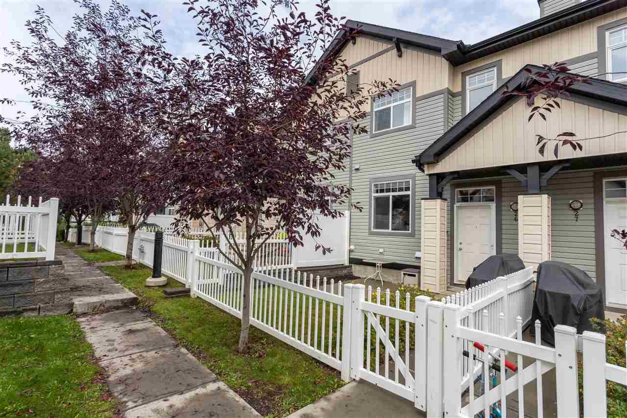 Main Photo: 26 465 HEMINGWAY Road in Edmonton: Zone 58 Townhouse for sale : MLS®# E4175351