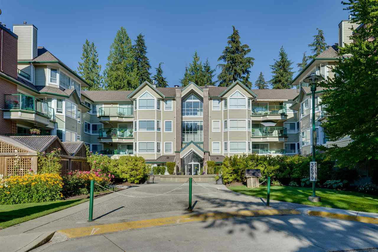 "Main Photo: 408 3690 BANFF Court in North Vancouver: Northlands Condo for sale in ""PARK GATE MANOR"" : MLS®# R2481410"