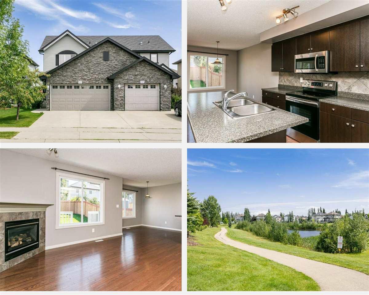 Main Photo: 111 RUE MONIQUE: Beaumont House Half Duplex for sale : MLS®# E4210162