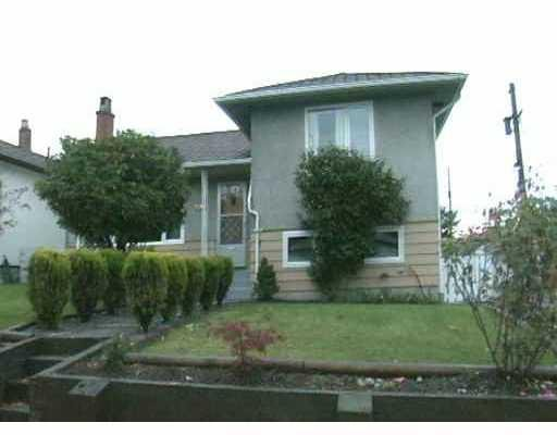 Photo 1: Photos: 2384 E 34TH AV in Vancouver: Collingwood VE House for sale (Vancouver East)  : MLS®# V794100