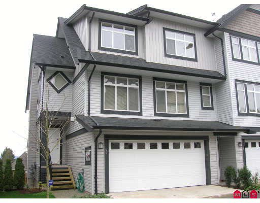 "Main Photo: 44 19932 70TH Avenue in Langley: Willoughby Heights Townhouse for sale in ""Summerwood"" : MLS®# F2807024"