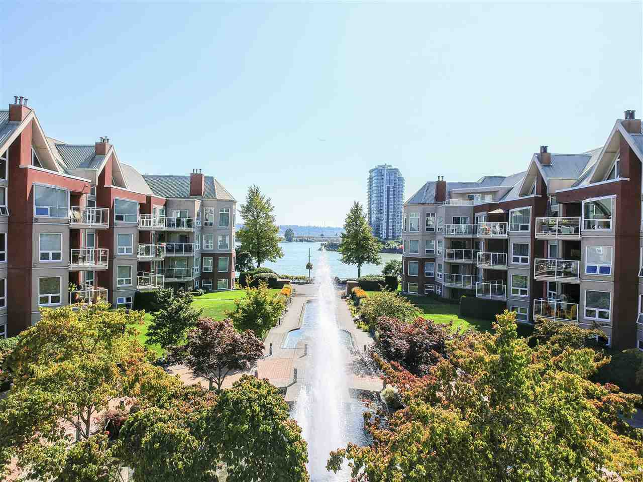 "Main Photo: 208 1230 QUAYSIDE Drive in New Westminster: Quay Condo for sale in ""Tiffany Shores"" : MLS®# R2432289"