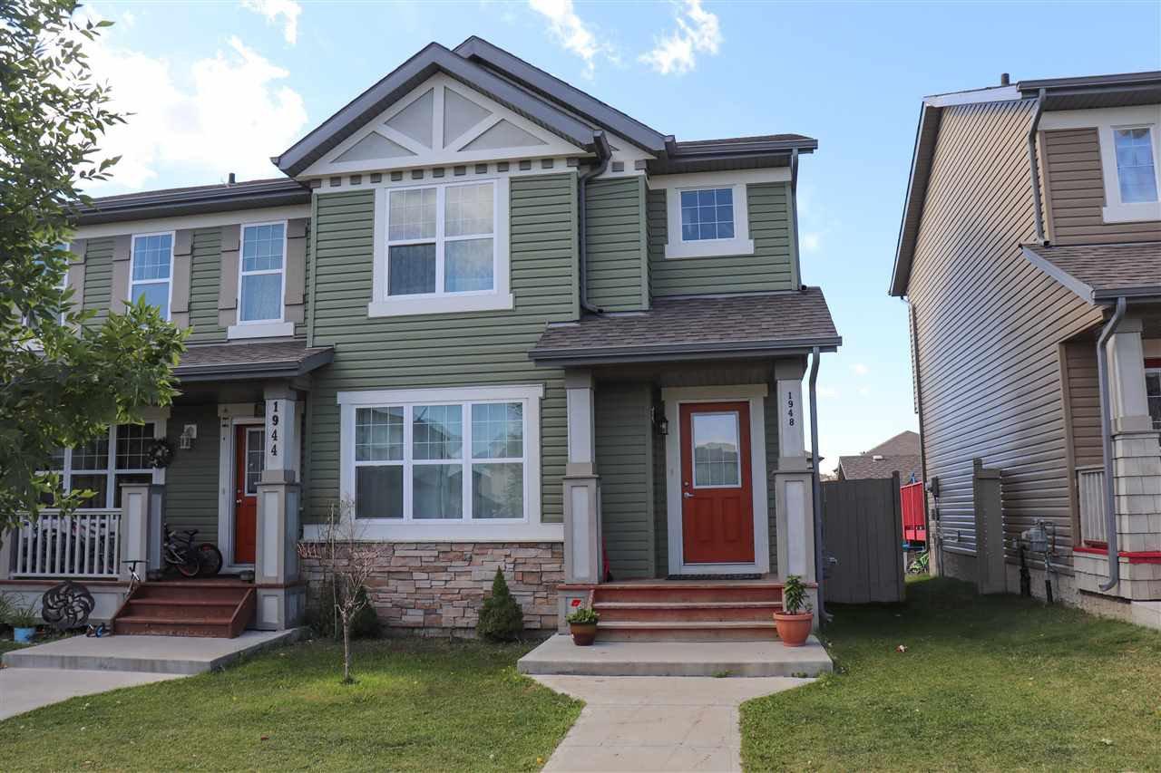 Main Photo: 1948 32 Street in Edmonton: Zone 30 House Half Duplex for sale : MLS®# E4213918