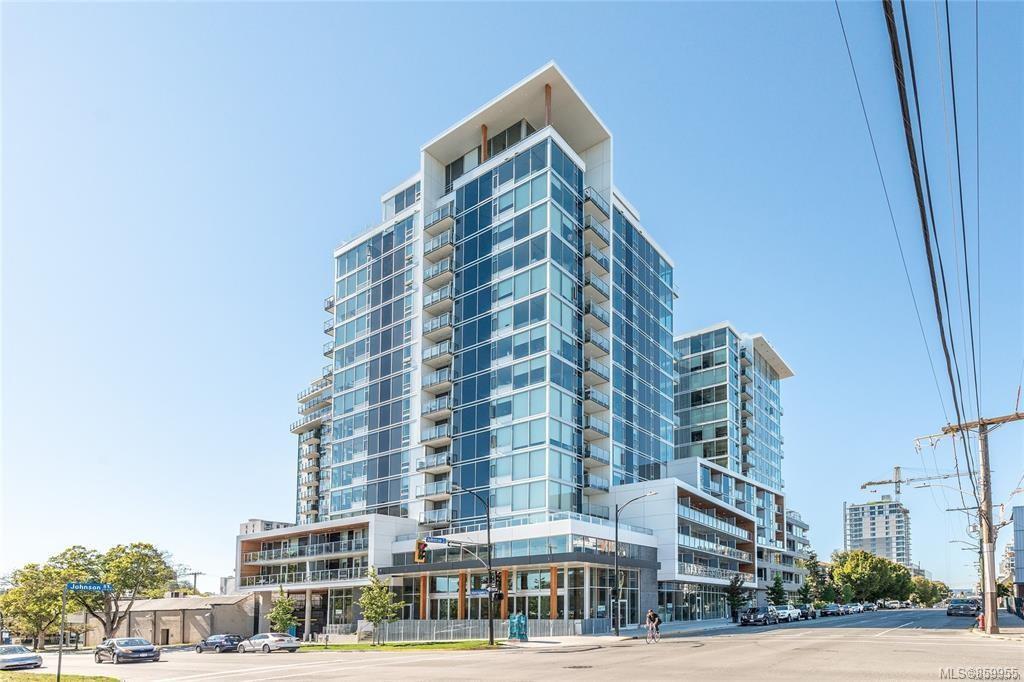Main Photo: 801 989 Johnson St in : Vi Downtown Condo for sale (Victoria)  : MLS®# 859955