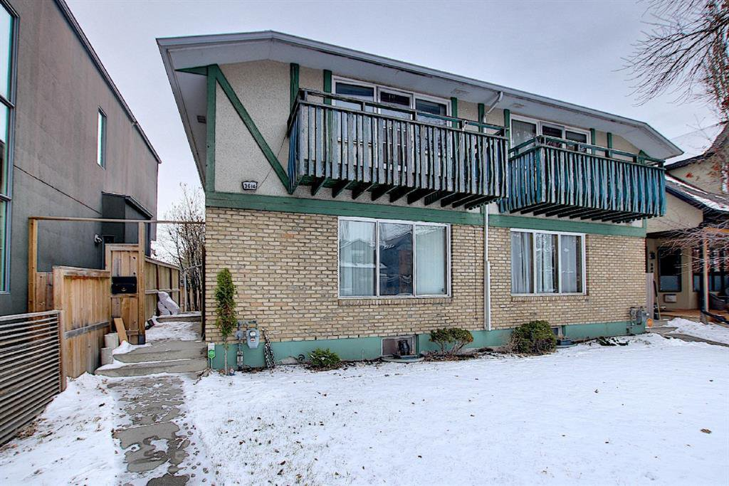 Main Photo: 3616 1A Street SW in Calgary: Parkhill Duplex for sale : MLS®# A1049641