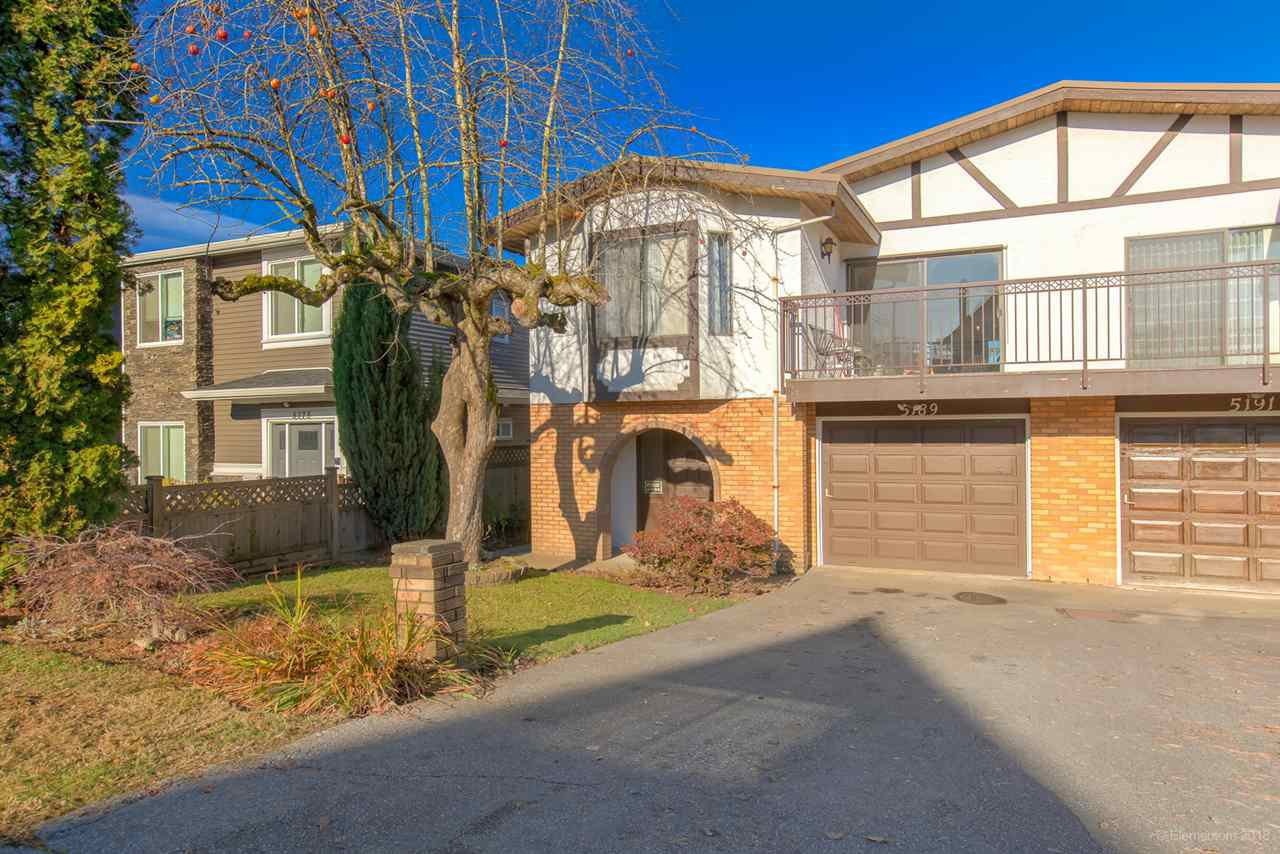 Main Photo: 5189 NORFOLK Street in Burnaby: Central BN House 1/2 Duplex for sale (Burnaby North)  : MLS®# R2420948