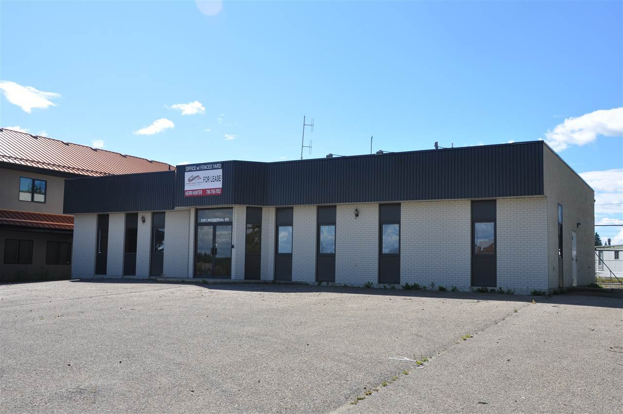 Main Photo: 5207 Industrial Rd: Drayton Valley Office for sale or lease : MLS®# E4207791