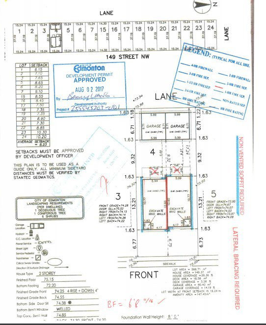 Main Photo: 11016 149 Street in Edmonton: Zone 21 Vacant Lot for sale : MLS®# E4169820