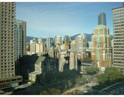 Main Photo: #1408 1050 Burrard in Vancouver: Condo for sale