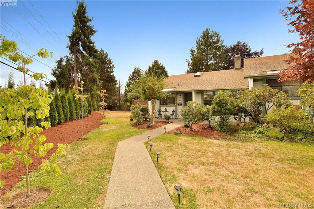 Main Photo: 1 4140 Interurban Road in VICTORIA: SW Strawberry Vale Row/Townhouse for sale (Saanich West)  : MLS®# 415705