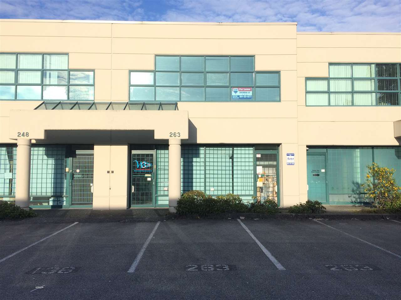Main Photo: 263 13986 CAMBIE ROAD in Richmond: East Cambie Industrial for sale : MLS®# C8032455
