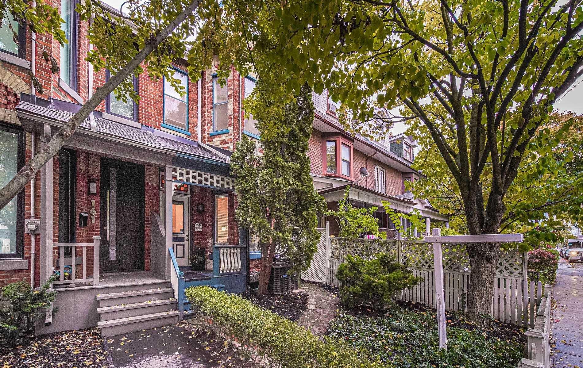 Main Photo: 159 Pape Avenue in Toronto: South Riverdale House (2 1/2 Storey) for sale (Toronto E01)  : MLS®# E4960066