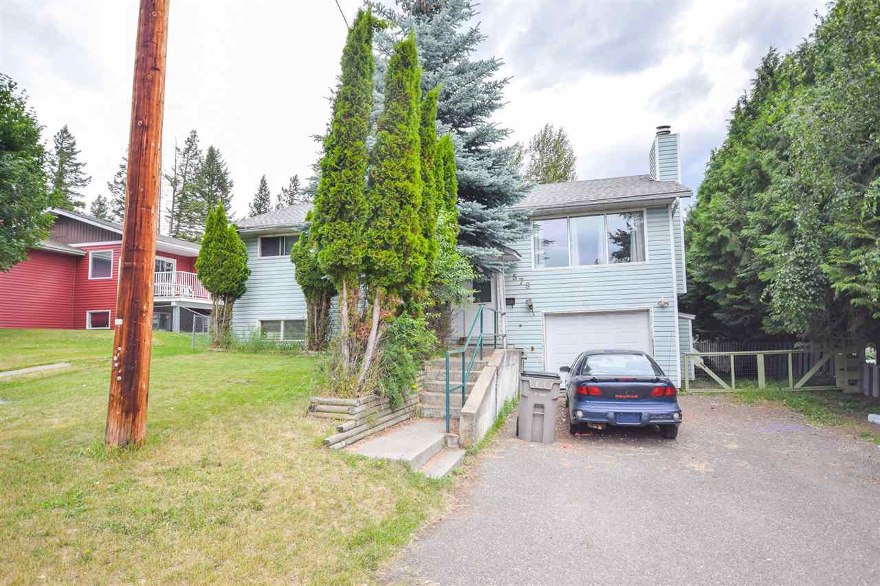 Main Photo: 578 JONES Street in Quesnel: Quesnel - Town House for sale (Quesnel (Zone 28))  : MLS®# R2446734