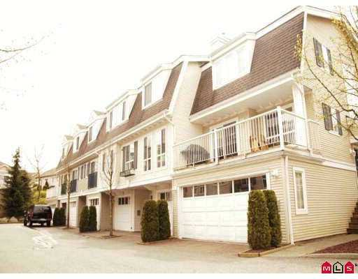 "Main Photo: 59 8930 WALNUT GROVE Drive in Langley: Walnut Grove Townhouse for sale in ""Highland Ridge"" : MLS®# F2709012"
