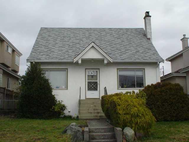 Main Photo: 161 W 44TH AV in Vancouver: Oakridge VW House for sale (Vancouver West)  : MLS®# V876651