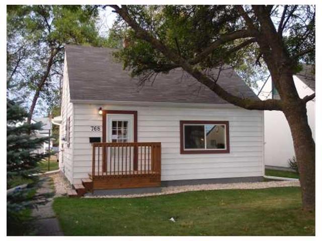 Main Photo: 768 Bannerman Avenue in Winnipeg: Residential for sale : MLS®# 1106893