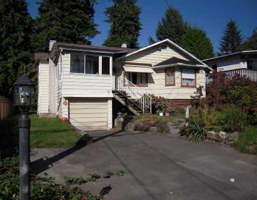 Main Photo: 1654 ROSS RD in North Vancouver: House for sale : MLS®# V733802
