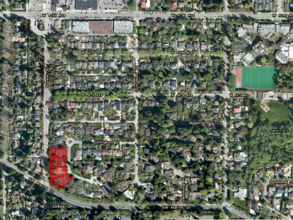 Main Photo: 6083 COLLINGWOOD Place in Vancouver: Southlands Land Commercial for sale (Vancouver West)  : MLS®# C8035075