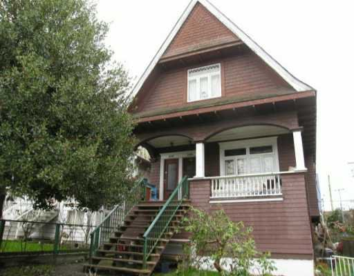 Main Photo: 2126 FRANKLIN Street in Vancouver: Hastings Land for sale (Vancouver East)  : MLS®# V634510