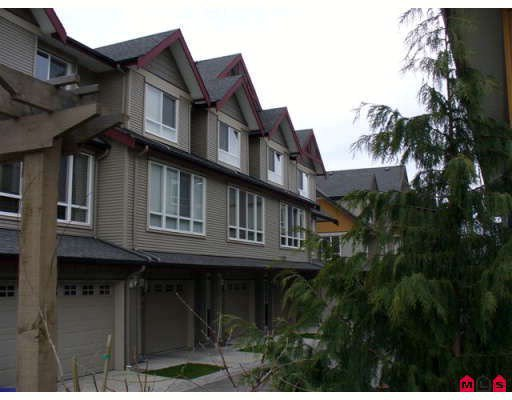 """Main Photo: 18 16772 61ST Avenue in Surrey: Cloverdale BC Townhouse for sale in """"Laredo"""" (Cloverdale)  : MLS®# F2805561"""