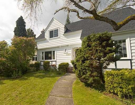Main Photo: 1365 W 57TH Avenue in Vancouver: South Granville House for sale (Vancouver West)  : MLS®# V695027