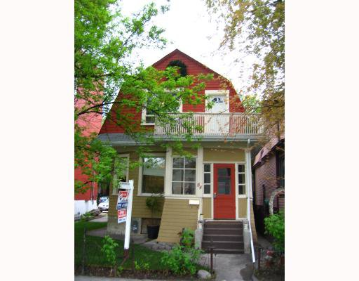 Main Photo: 64 EVANSON Street in WINNIPEG: West End / Wolseley Residential for sale (West Winnipeg)  : MLS®# 2808777